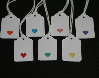 handmade style  gift tags