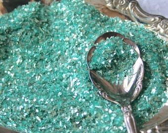 German Glass Glitter AQUA