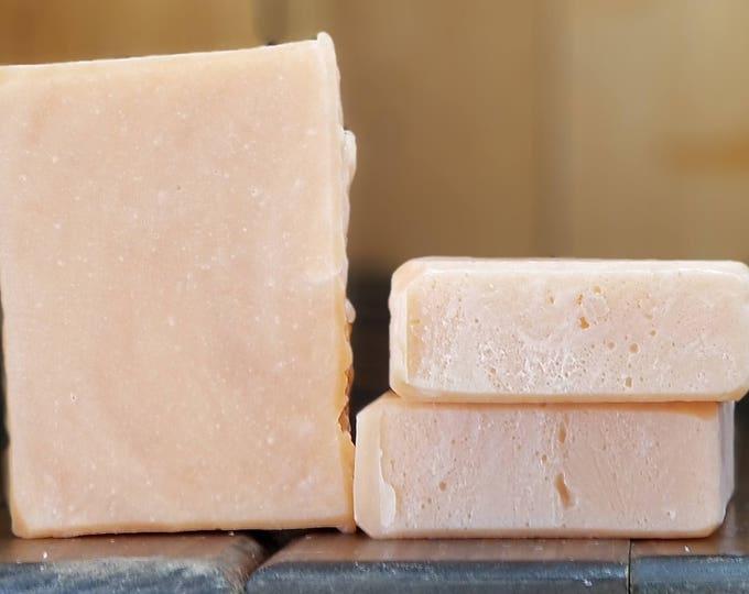 """Pineapple Mango Scented Soap """"Feste"""" Soap Goddess Loves Shakespeare Soap, light scent, yogurt soap, free shipping"""