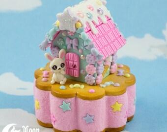 Candy House   Schmuck-Box   Sweet Lolita Mode   Süßer Hase
