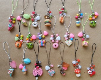 12 Cellphone Charms Series - Party Giveaway Collection