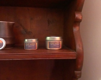 beeswax wood polish (petroleum-free)