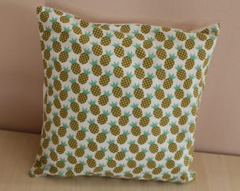 Cushion cover - 24 x 24 cm - pattern pineapples