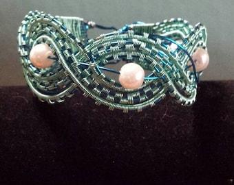 Ocean Goddess wire bracelet
