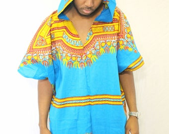 Customized Dashiki pullover Poncho (Medium)- limited edition