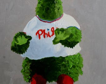 Phillies Phanatic - Digital Dowload for Phone Wallpaper