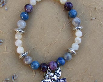 Gemstone Angel Jewelry - Intuitive Gifts Crystal Bead Bracelet