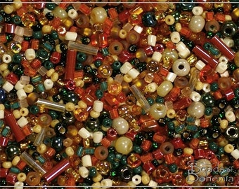 Wild Australia Czech Seed Bead Mix, 50 g (7401)