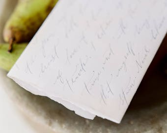 Bespoke Hand Lettered Calligraphy