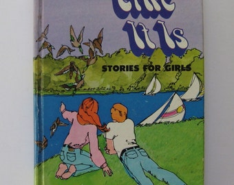 Like It Is: Stories for Girls. A Whitman Anthology 1972. Vintage retro mod young adult fiction short stories.