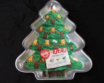 Vintage Wilton Holiday Tree Pan 2105-9410