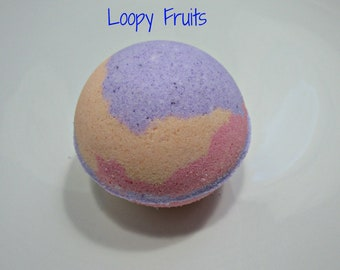 Loopy Fruits Bath Bomb- Fizzy and Bubbly