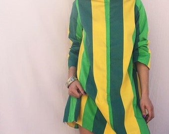 Vintage rastafari tunic dress