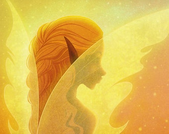Fairy Wings, 8x10
