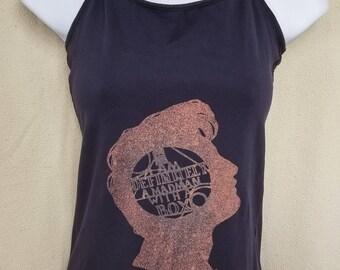 Doctor Who Bleach Shirt - I am Definitely a Madman with a Box Bleach Art T-shirt