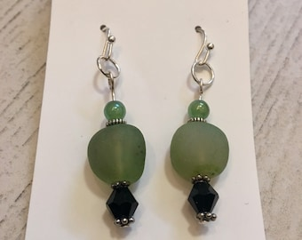 Shamrock Ice - earrings