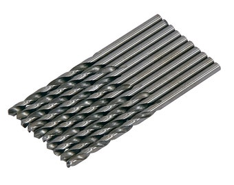 CT2977 10PC 3.5mm HSS Drill Bit Set, for Hobby Craft Model and Jewellery Makers, 3.5mm For Metal, Plastic And Wood
