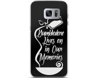 "Dumbledore Memories"" Harry Potter Inspired Hogwarts, Albus Dumbledore Samsung Case"
