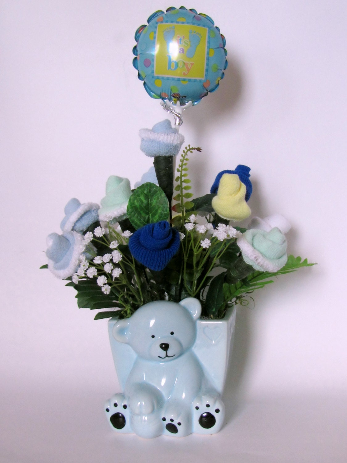 Its a boy baby shower centerpiece baby boy gift baby zoom negle Choice Image