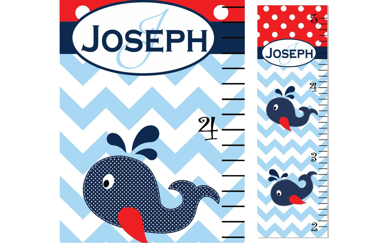 Growth chart children whale chevron polka dot zoom nvjuhfo Image collections
