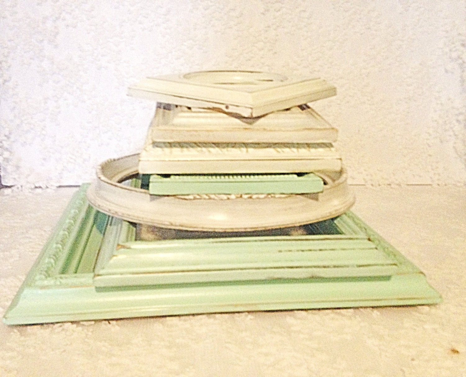 collage frames-frames-white frames-mint frames-green frames-wall art ...