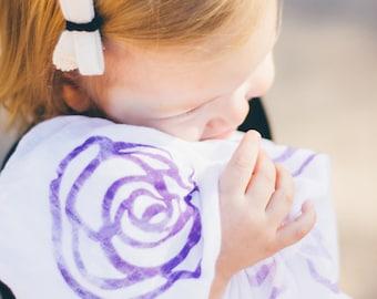 Swaddle Blanket - Floral Swaddle Blanket - Baby Girl Gift - Baby Blanket - Swaddler - Newborn Baby Gift - Newborn Swaddle - Shower Gift