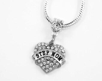 Step mom necklace best step mom bracelet step mom gift Step mom jewelry