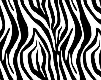 "Stencil, stencil texture ""Zebra"""