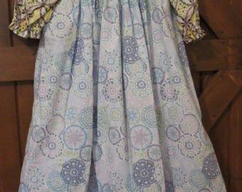 Girls ROSE Prairie Dress 3-Piece Ensemble Size 6