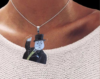 Fat Controller necklace