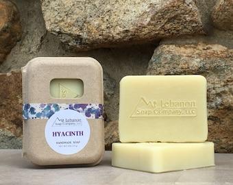 Hyacinth Soap - Floral Soap - Cold Process Soap - Spring Gift - Vegan Skincare - Bar Soap - Spring Soap - Handmade Soap - Homemade Soap