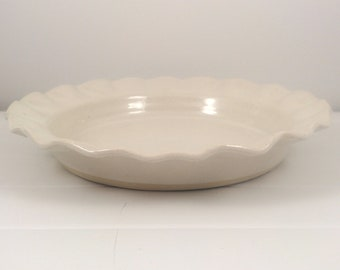 White Pie Plate
