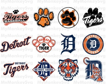 Detroit Tigers Baseball Clipart SVG,Baseball Clipart,Tigers SVG,Baseball SVG,Decal,Vinyl,Shirt,Instant Download,Eps,Png,Dxf,Banner