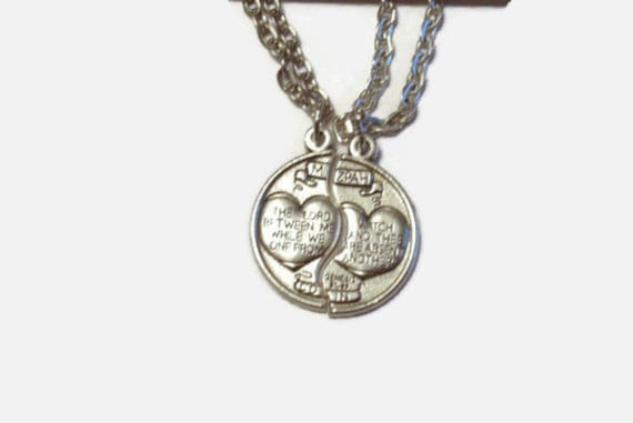 Couples Gift- Mizpah Pendant Set, antique silver -Genesis 31:49 | The Lord Watch Between Me and Thee While We are Apart - GIFT BOXED