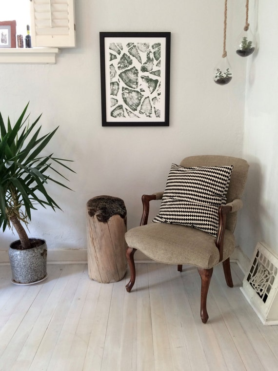 Natural Pattern Art, Textured Wall art, Christmas Tree, Christmas art, Art gifts, holiday art decor, tree art, Stacked wood, firewood decor