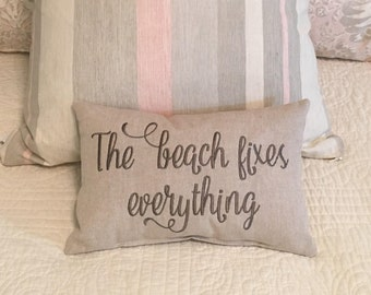Pillow, Throw Pillow,Accent Pillow, Decorative Pillow, Beach Pillow, Words Pillow, Sayings Pillow, Quote Pillow, Lumbar pillow, Housewarming