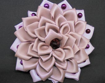 Stunning Hand-Made Kanzashi Hair Ornament