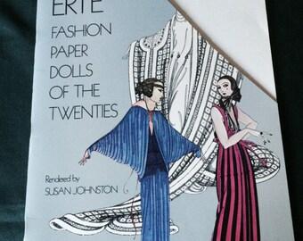 Erte Fashion Paper Dolls of the 1920s