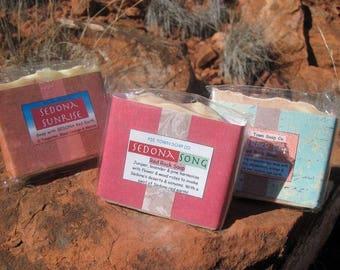 Sedona Soap   Sedona gifts  Sedona energy soap  Red Rock Soap