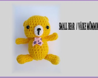 Amigurumi bear-Bear-Crochet stuffed animal