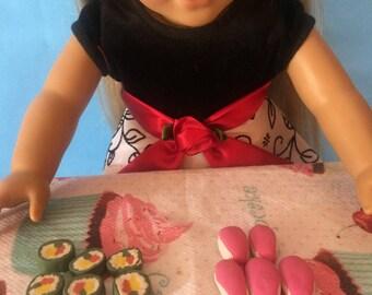 American Girl Gourmet Food- Sushi
