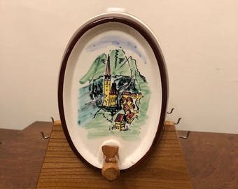 Vintage Ceramic Keg