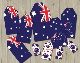Australia tags download Australian tags printable, Australia flag tags Australia tag clip art Australia printable Australia download