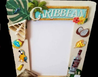 Caribbean  Life Picture Frame