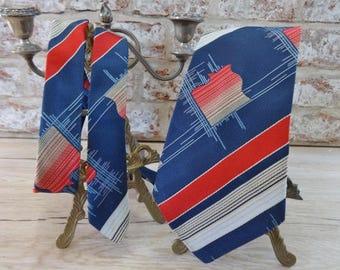 Vintage Mens Kipper Yarn Tie sixties