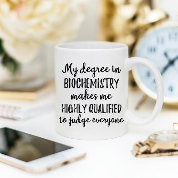 Biochemistry Gift Biochemistry Mug Biochemist Mug
