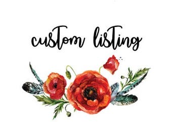 Pixie Flower Crown   Custom   Made to Order