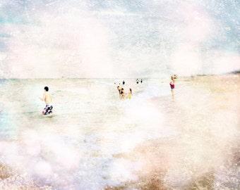 Vintage Art - 8x10 photograph -  Beach Photograph - fine art print - travel photography - ocean photo