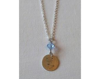 ASL I Love You necklace