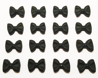 "Miniature bow ties, 1/2"" x 1/4"" - approx. 25 per package"